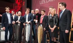 Paris, le 7 mars 2016 : ceremonie de remise des Palmes de la Restauration 2016 au Palais de la Mutualite (Photo Sebastien Rande / Studio Cui Cui)